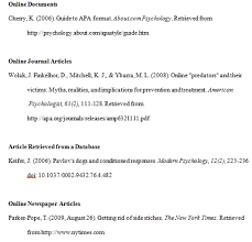 ideas collection how to cite a internet source in apa format with