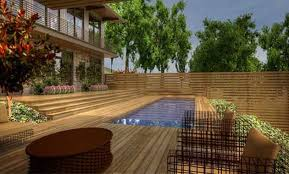 best above ground wooden pool deck kits swimming pool planet