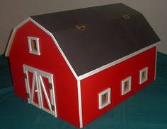 Free Woodworking Plans Toy Barn by Free Wood Toy Barn Plans Com Hip Roof Toy Barn Our Amish