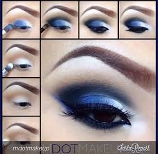 25 best ideas about blue eyeshadow makeup on blue eyeshadow blue makeup and smoky eye tutorial