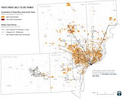 Metro Detroit Map by Will Metro Detroit Voters Approve Mass Transit That Most Will Not