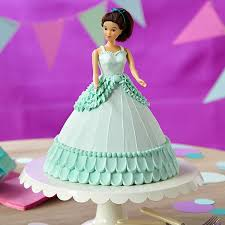 decorate a doll cake perfect for a little u0027s birthday party