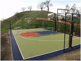 Outdoor Court Lighting by Backyards Appealing Backyard Basketball Courts 141 Outdoor Court