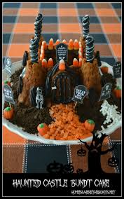Halloween Bundt Cake Haunted Castle Cake Recipes Food For Health Recipes