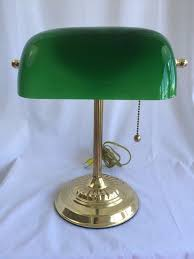 bankers desk lamp sydney vintage bankers lamp green glass shade