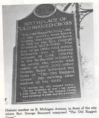 The Old Rugged Cross Hymn The Old Rugged Cross Written In Albion Historical Albion Michigan