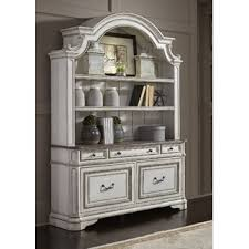 lisbon solid rubberwood china cabinet low china cabinet wayfair
