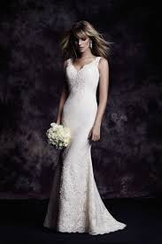 lace one shoulder wedding dress fit and flare wedding dress kleinfeld bridal