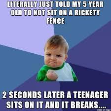 Listen To Me Meme - all kids should listen to me meme on imgur