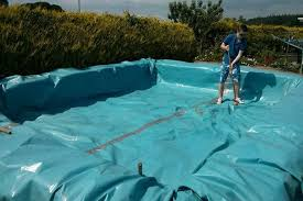 build your own swimming pool from bales of hay home design