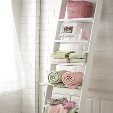 Bathroom Storage Ladder Ladder Storage Restroom Relive Pinterest Ladder Storage