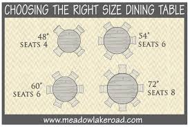 round table number of seats drh s dining table must knows darby road home