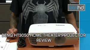 home theater projector under 1000 benq ht3050 home theater projector review youtube
