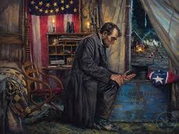 national day of prayer abraham lincoln in the eye