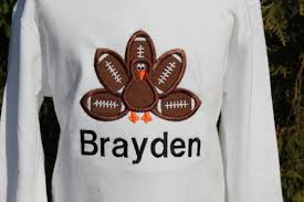 thanksgiving shirts for toddlers boys football personalized