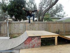 Backyard Skate Ramps by Pallet Skateboard Ramp Use As Guide To Stacking Pallets For