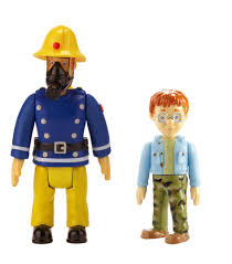 character uk fireman sam toys 2 figure pack