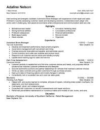 assistant manager resumes assistant manager resume sle manager resumes livecareer