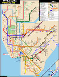 Brooklyn Zip Code Map by Subway Map New York New York Map