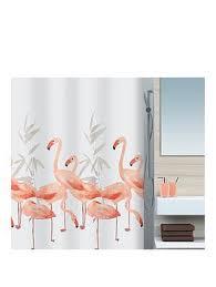 spirella flamingo shower curtain 180 x 180cm very co uk
