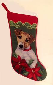 christmas needlepoint personalized dog breed christmas needlepoint