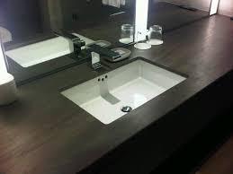 Designer Bathroom Sinks Brilliant Modern Bathroom Undermount Sink A Minimalist Vanity With