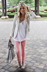light pink blazer womens how to wear pink pants for women 2018 fashiongum com