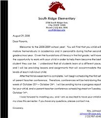 sample parent teacher conference letter for preschool checklist