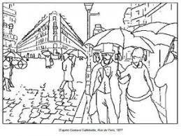 71 coloriages dœuvres dartistes peintres à imprimer