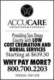 cremation san diego san diego county with low cost cremation and burial services accu