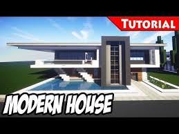 best modern house minecraft easy modern house mansion tutorial 4 download