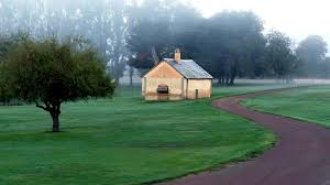 free stock photo of house in the distance in tasmania australia