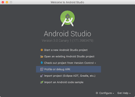 android apk version android developers android studio 3 0 canary 1