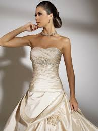nice tiered off shoulder pleated ball gown wedding dress bg013