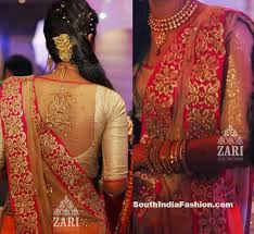 net blouse pattern 2015 top 10 blouse designs for wedding silk sarees south india fashion