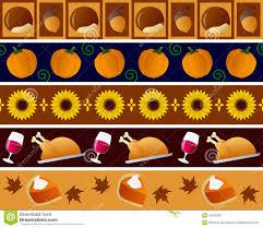 thanksgiving free photos thanksgiving borders set royalty free stock photography image