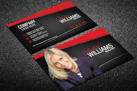 era business card templates designed for era real estate agents
