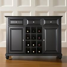 awesome dark grey oak sideboard design featuring three drawers and