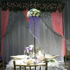 Tall Table Centerpieces by Elegant Tall Crystal Wedding Flower Stand Tall Wedding Table