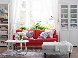 The Red Sofa 15 Beautiful Ikea Living Room Ideas
