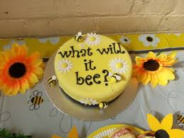 what will it bee baby shower what will it bee baby shower reveal cakes lasting memories by a