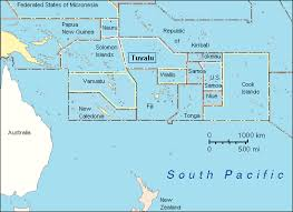 map of tuvalu maps page