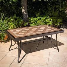 tile table top design ideas tiled garden tables nhmrc2017 com