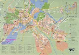 Germany City Map by Potsdam Map