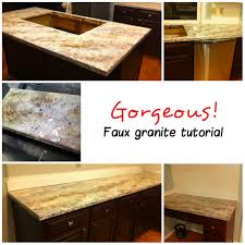 Paint Kitchen Countertops by How To Spray Paint Kitchen Countertops