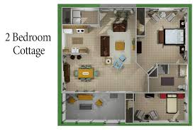 2 bedroom cottage floor plans cottage floor plans assisted independent senior living boerne tx