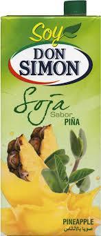 cr e soja cuisine bebida de zumo y soja don simón piña 1 l