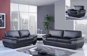 Modern Leather Sofas Sets Designer Living Room Furniture Bonded - Stylish sofa sets for living room