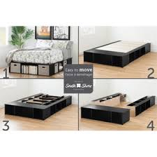 South Shore Full Platform Bed South Shore Flexible Full Platform Bed Sears Marketplace
