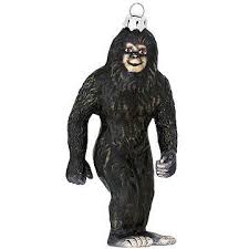 bigfoot glass ornament bronner s
